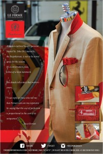 Bespoke Ferrari Jacket with Custom Details