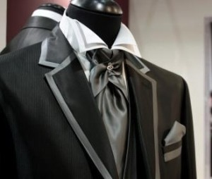 Bespoke Wedding Suit Silk Ascot