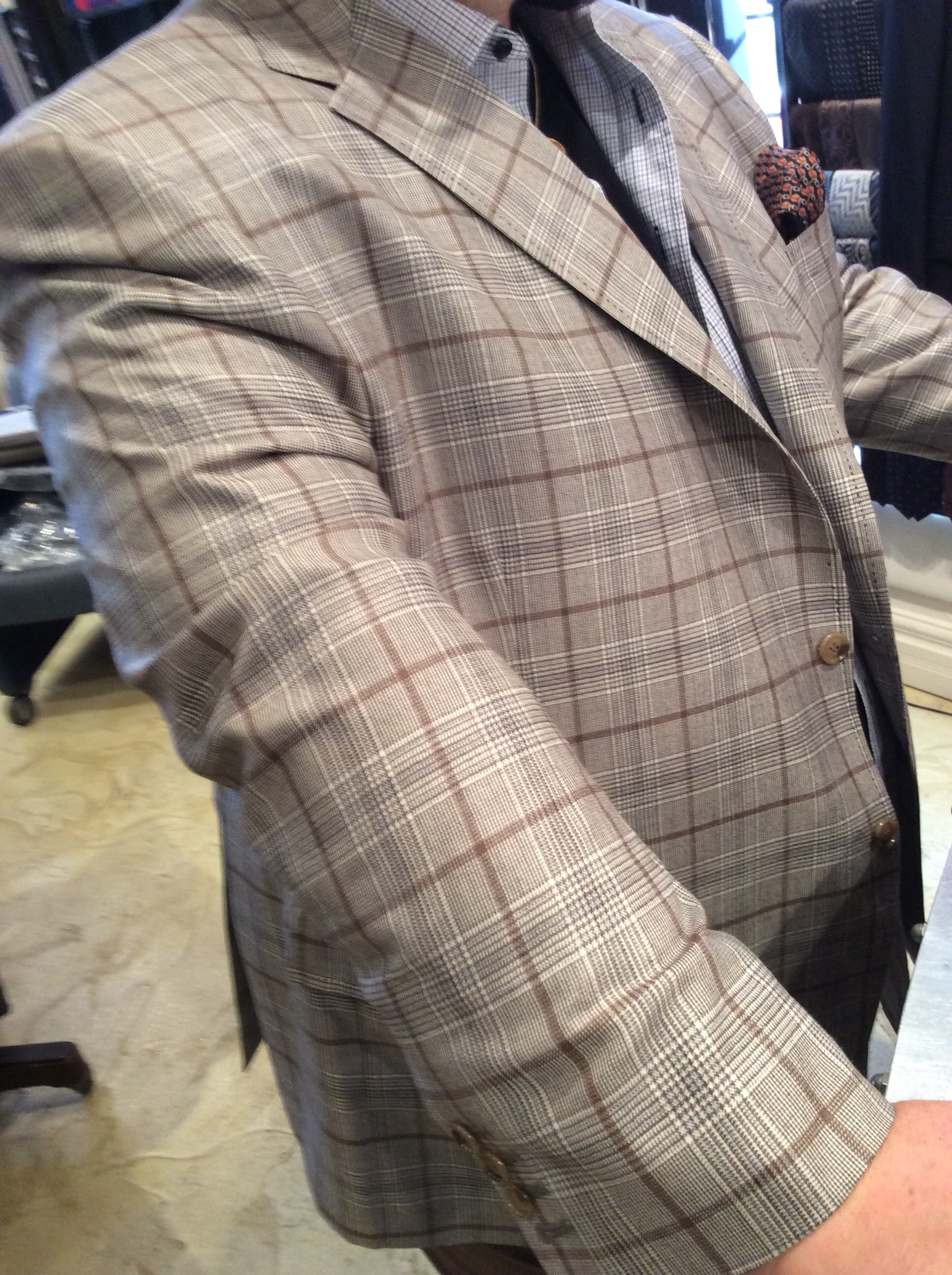 Bespoke Jacket Loro Piana Cashmere Cloud