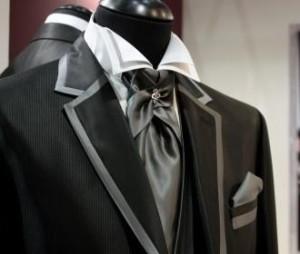 Bespoke Wedding Suit Silk Ascot
