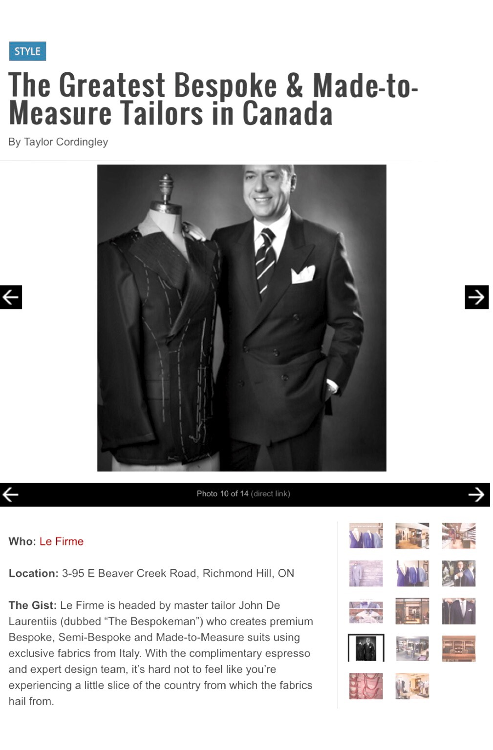 Bespoke Suits Custom Suits Bespoke Tailor Toronto GTA About The Bespokeman
