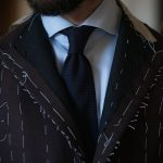 bespoke suit fitting